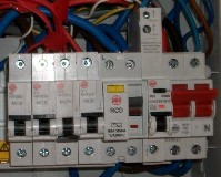 elektrico electricians consumer unit close up